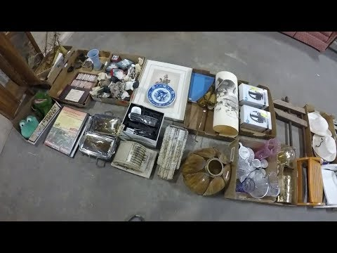 Trash Picking and Auction Hauls - The Best Education is Experience!