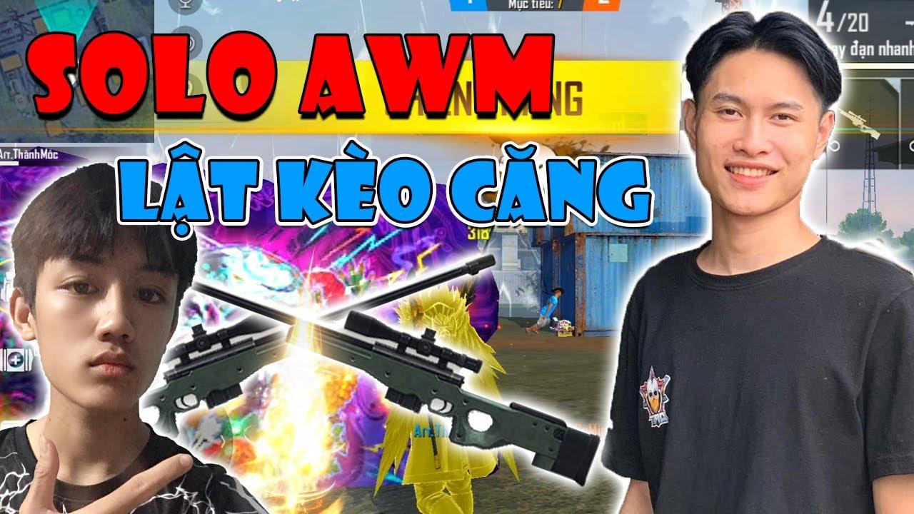 [Garena Free Fire] Solo AWM Cùng BoyK TV Người Đầu Tiên Thắng Thành Mốc Bằng Mobile |Thành Mốc