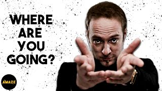 Man Misses Tube Stop Because Derren Brown Gives Him Amnesia   Mind Control   Amaze