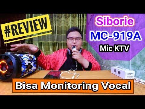 Gadget - Review Mic KTV Siborie MC-919A (Bisa Monitoring Vocal Sing! Smule)