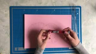 Инструменты для создания полигональной скульптуры или 3D модели из бумаги