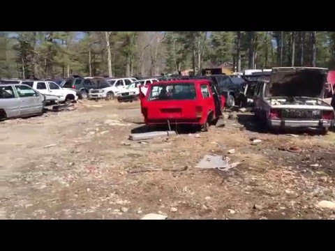 Middleborro auto salvage part 4 jeep section