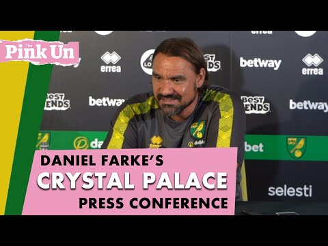 Daniel Farke Ahead Of Crystal Palace | Press Conference