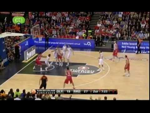 OLYMPIACOS PIRAEUS - REAL MADRID 100 - 88 EUROLEAGUE FINAL
