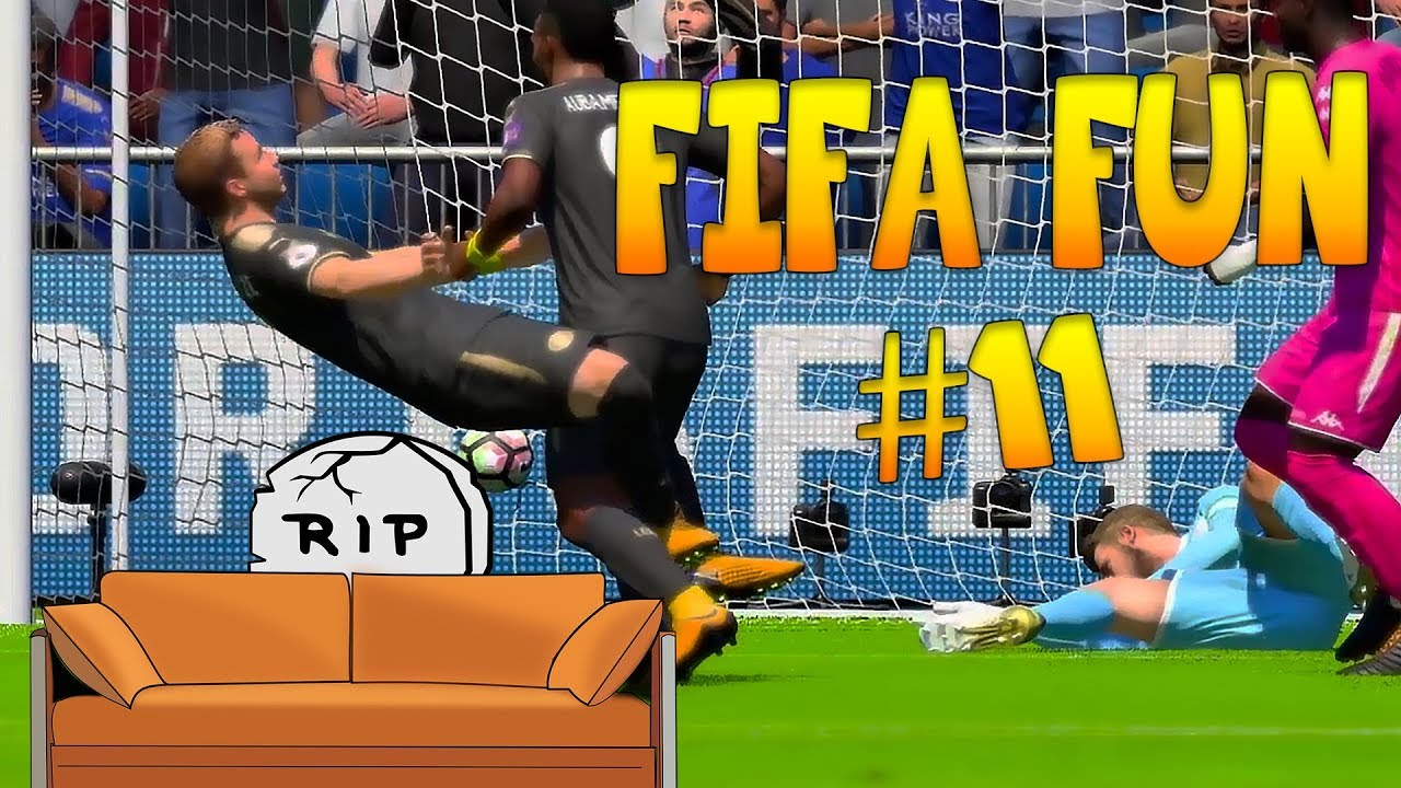 Fifa 18 Funny Fails #11 - Crazy Fouls and Collisions!