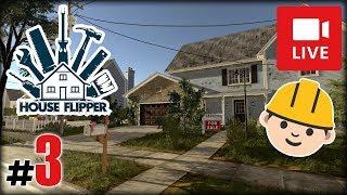 "[Archiwum] Live - HOUSE FLIPPER! (2) - [1/2] - ""Szpara i dom studentów"""