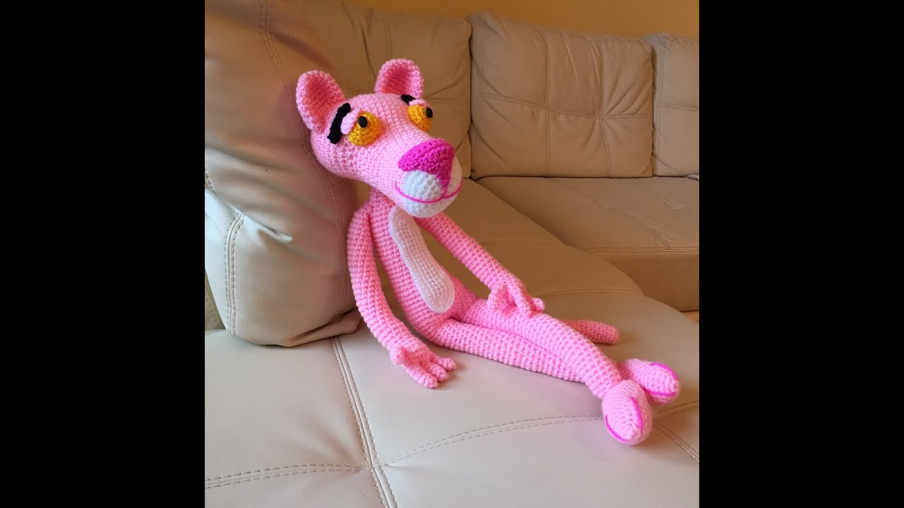 Tutorial Rose Amigurumi : pantera rosa Amigurumi (tutorial schema)/How to crochet ...