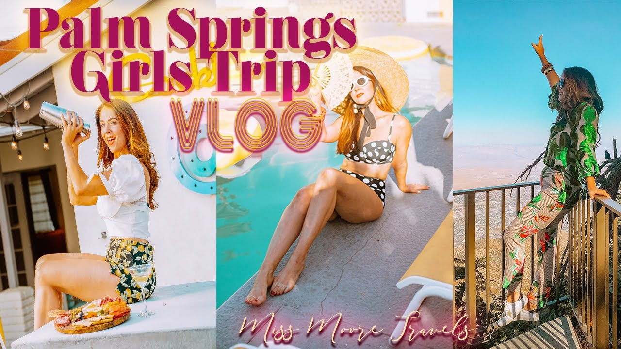 [VIDEO] - FUN THINGS TO DO IN PALM SPRINGS + STAYING WITH ACME HOUSE COMPANY 1