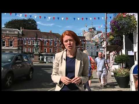 """""""Say No To Broadlands Tesco"""" in Romsey Hampshire BBC South Today news report September 2012"""
