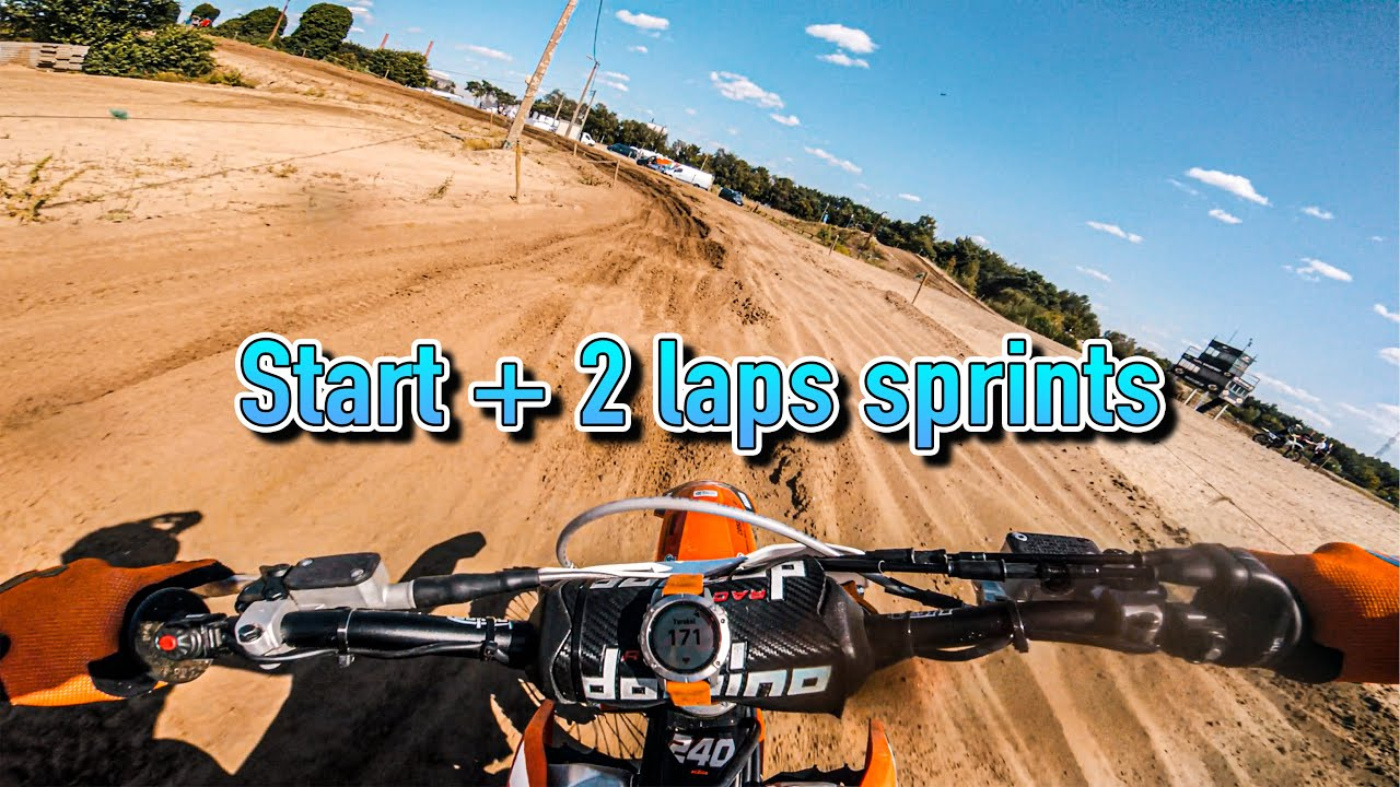 Epic GoPro Footage From Sandy Lommel Motocross | Last Training Before MXGP Restart