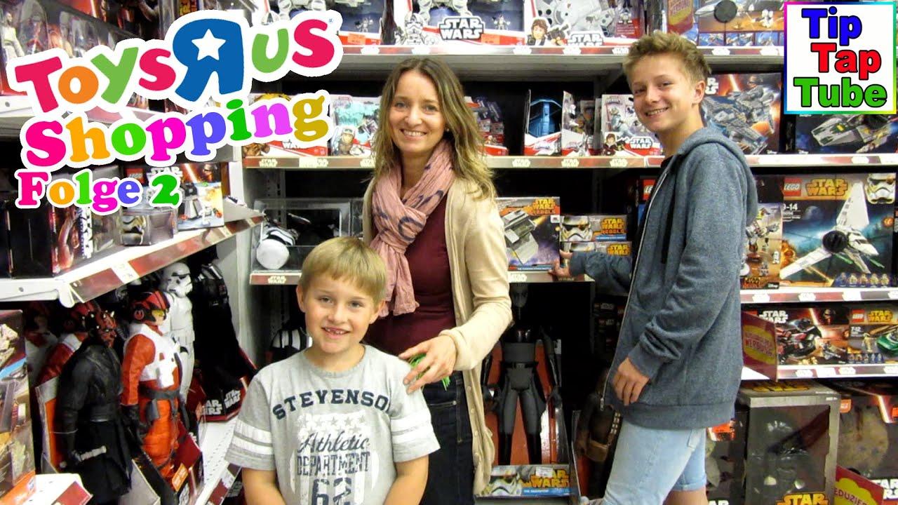 Toys r us spielzeug shopping und essen bei mc donalds