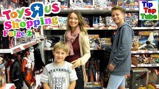 Toys R us Spielzeug Shopping und essen bei Mc Donalds Folge 2