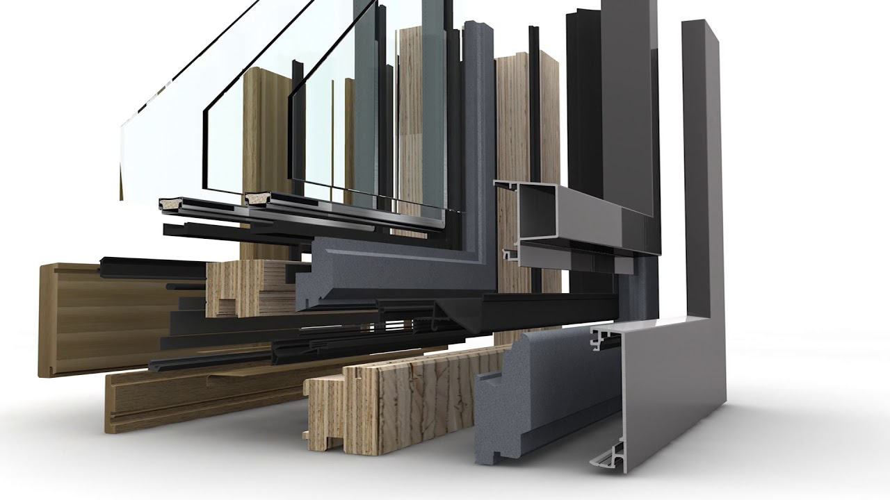 Holz-Aluminium-Fenster HF 410 von Internorm - YouTube