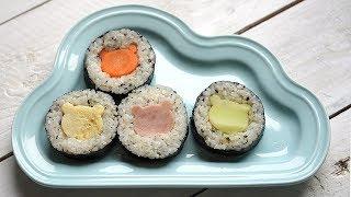 곰돌이김밥 귀염귀염 어린이집 소풍 김밥 만들기 이색김밥…