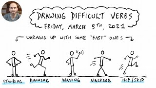 Drawing Difficult Verbs