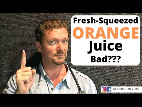 How Can Fresh-Squeezed Organic Orange Juice Be Bad? Should You Drink It?