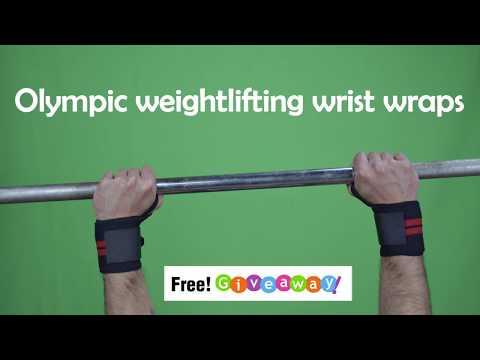 Olympic weightlifting wrist wraps Giveaway! WinWristWraps.info