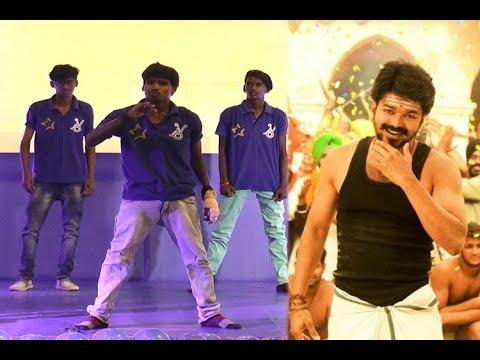 தளபதி Vijay Punch Dialogues க்கு Sema kuthaattam Podum Fans | Galatta Exclusive