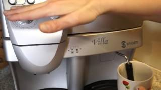 Самый правильный Способ приготовления Капучино кофемашина SAECO spidem-villa(Как правильно приготовить капучино, чтобы не угробить тен на кофе-машине SAECO spidem-villa., 2015-02-05T12:35:50.000Z)