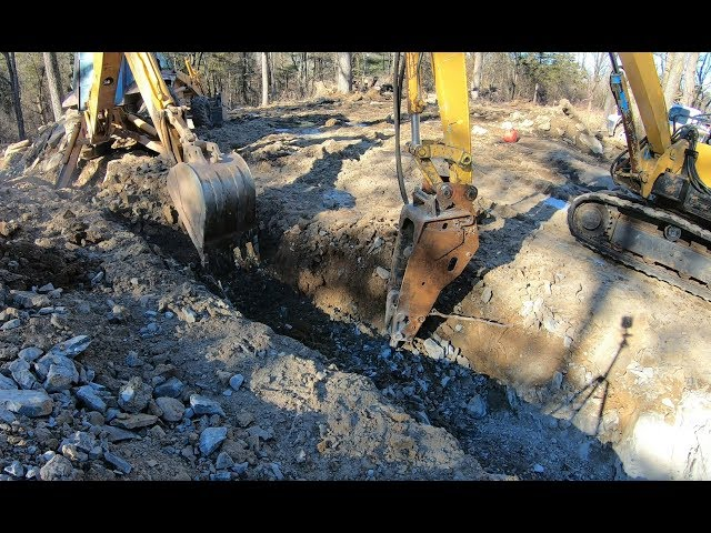 Hammering a septic line