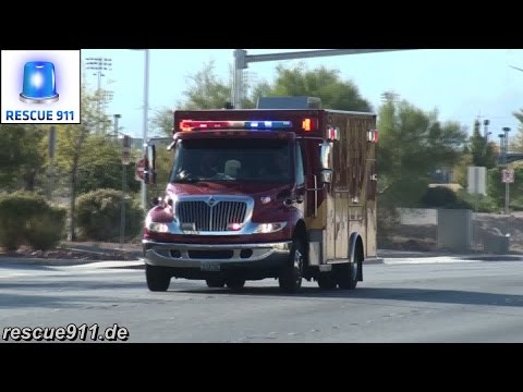 [Las Vegas] Rescue 44 Las Vegas Fire-Rescue