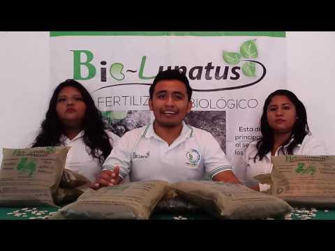 """BIO-FERTILIZANTE """"BIO-LUNATUS"""" premio nacional del emprendedor"""