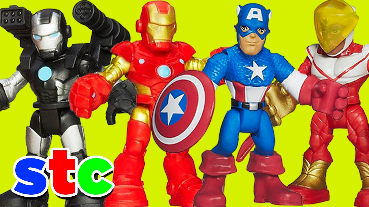 Juguete de los vengadores 2 iron man y capitan america - Descargar imagenes de los vengadores ...
