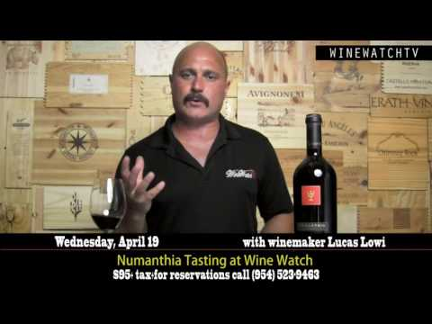 Numanthia Tasting at Wine Watch with winemaker Lucas Lowi - click image for video