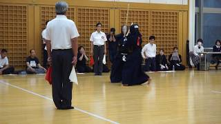 第58回全日本女子剣道選手権大会大阪府予選会 第一試合場決勝戦