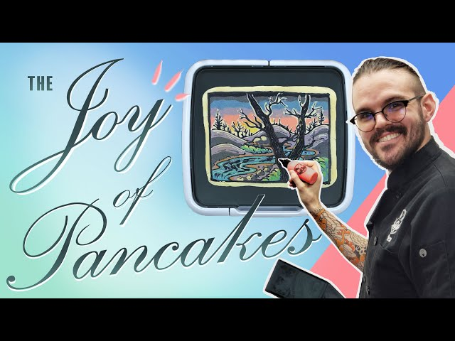 Happy Little Trees | The Joy of Pancakes 001