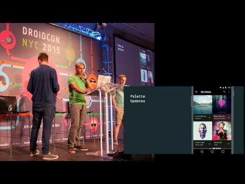Droidcon NYC 2015: What's New in Android UI Engineering