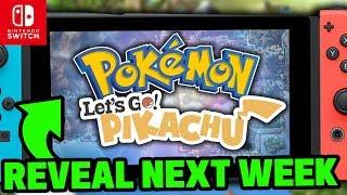 Baixar Pokémon Switch Rumours - INSIDER CLAIMS REVEAL NEXT WEEK! Pokémon Let's GO Pikachu & Let's GO Eevee!