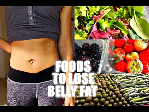 The BEST FOODS TO LOSE BELLY FAT FAST