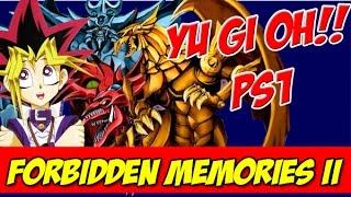 """YU-GI-OH FORBIDDEN MEMORIES II - """"COM DIREITO A DEUSES EGÍPCIOS!"""""""