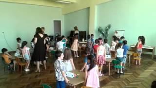 Открытый урок (Умницы и Умники)  в детском саду N 40