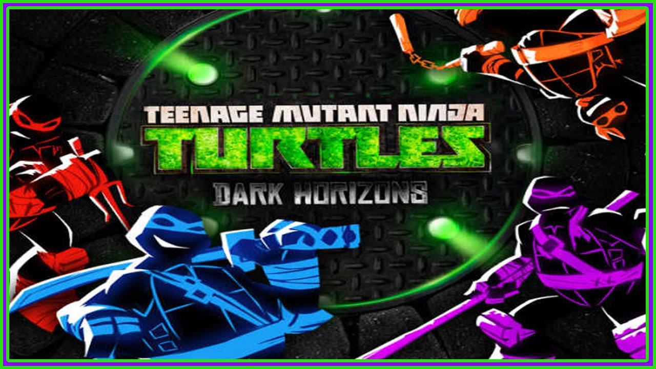 TMNT Dark Horizons - 2 Cartoon Games