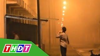 Tiền Giang: Hỏa hoạn ở Khu công nghiệp Tân Hương | THDT