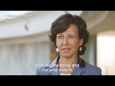 Tallinn Digital Summit keynote speech by Ana Botin (Banco Santander)