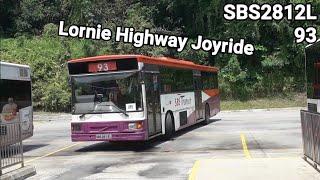 [Retired | Lornie Highway joyride | SBS2812L | B10M-60A MK IV] SBS Transit Trunk 93 Joyride