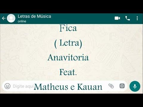 Fica -  - Antoria feat. Matheus e kauan