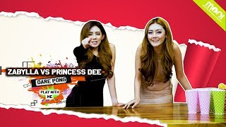 [HOT GAMES] DARE PONG YANG KALAH BUKA BAJU!! -  PRINCESS DEE VS ZABYLLA!!!