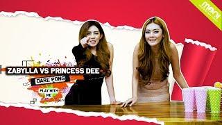 HOT GAMES DARE PONG YANG KALAH BUKA BAJU!! - PRINCESS DEE VS ZABYLLA!!!