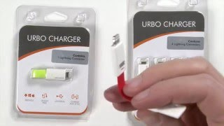 Urbo Keyring Charger: Easy to Carry, Hard to Lose