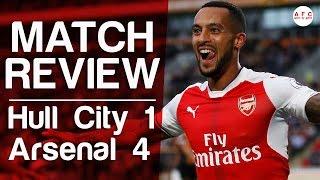 Hull City V Arsenal 4-1 | 2016/17 | Match Review
