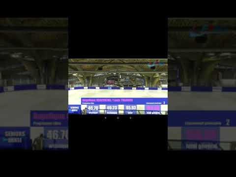 Gabriella Papadakis/ Guillaume Cizeron Free Dance French Masters part 1