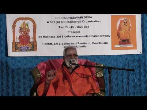 Courtallam Swamiji October 24  2015   Hanuman Temple Frisco
