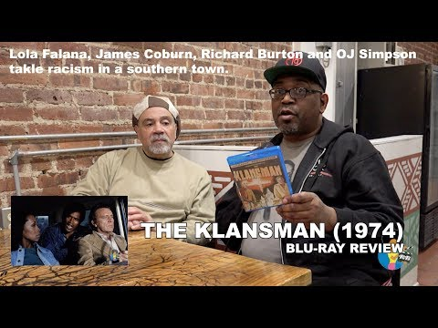 Reelblack Podcast - The Klansman (1974) | Blu Ray Review