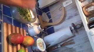 Mango Okra Salad