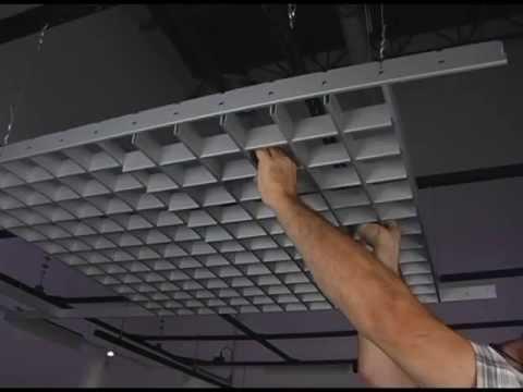 монтаж потолка грильято инструкция - фото 4