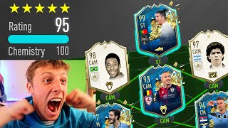 I GOT 99 TOTS RONALDO IN A 195 RATED FUT DRAFT CHALLENGE!! - FIFA 20